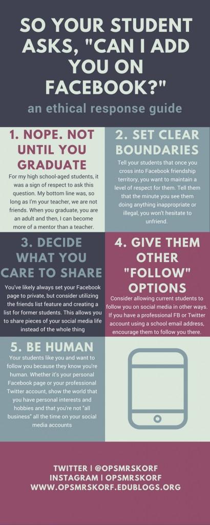 Student_Teacher Social Media Friending Guide